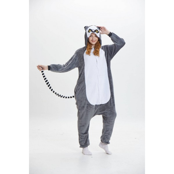 Cheap Cosplay Cartoon conjoined ladies Onesies long tailed monkeys cute for women