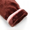 Thickened coral velvet pajamas and robe setsflannel pajamas for men and women