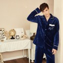 Winter flannel pajama suit for men