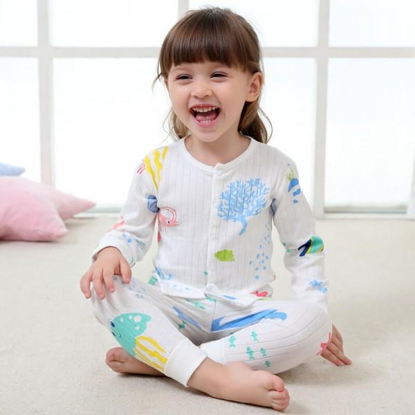 Cheap babies underwear set pajama sets for kids