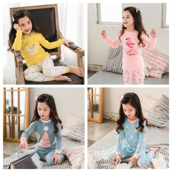lovely girls lounge sleepwear for children