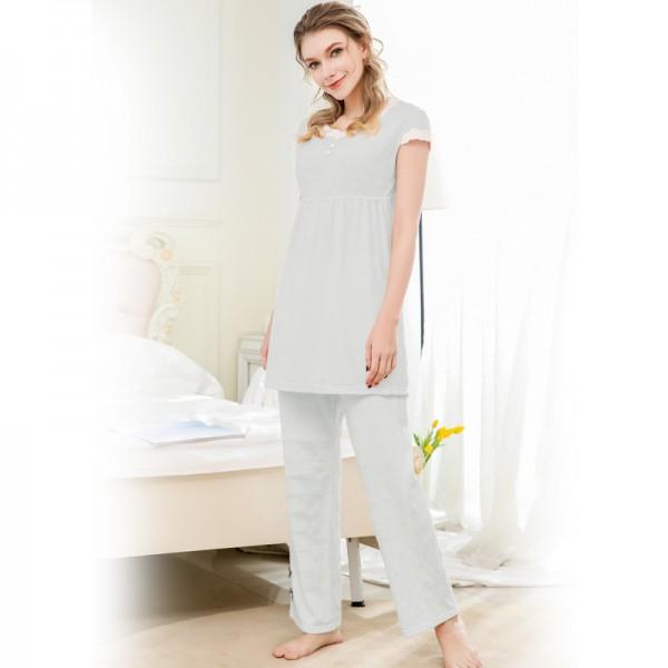 Comfortable pajama short sets for women