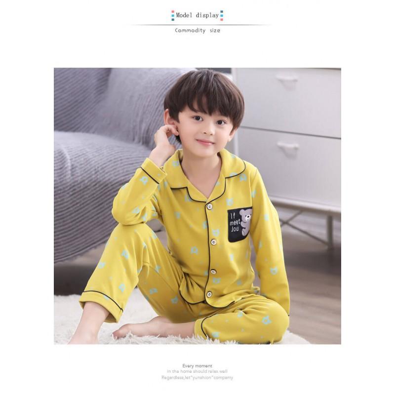 100 Cotton Soft pajama set for Boys