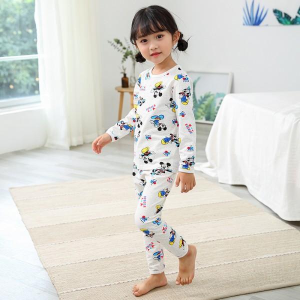 Children Cotton pajama sets wit cute print